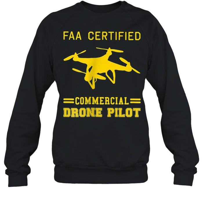 Faa Certified Commercial Drone Pilot  Unisex Sweatshirt