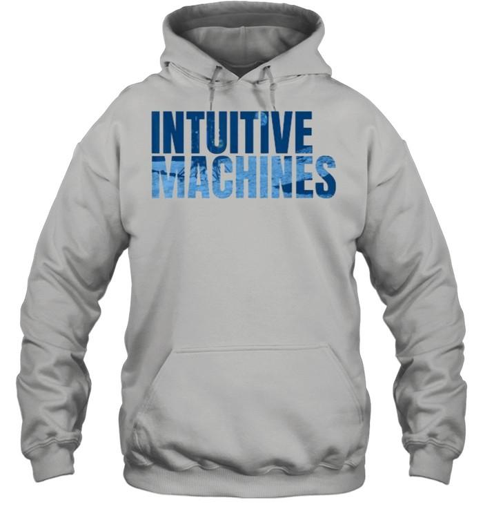 Intuitive Machines Blue  Unisex Hoodie