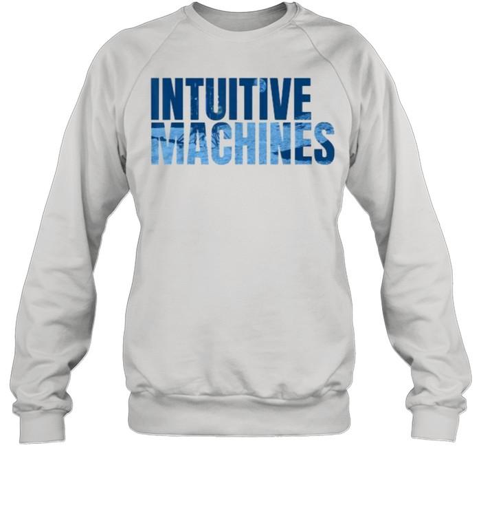 Intuitive Machines Blue  Unisex Sweatshirt