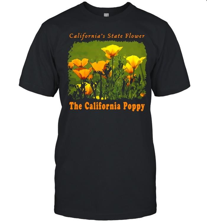 California's State Flower The California Poppy Wildflowers Ca T-shirt Classic Men's T-shirt