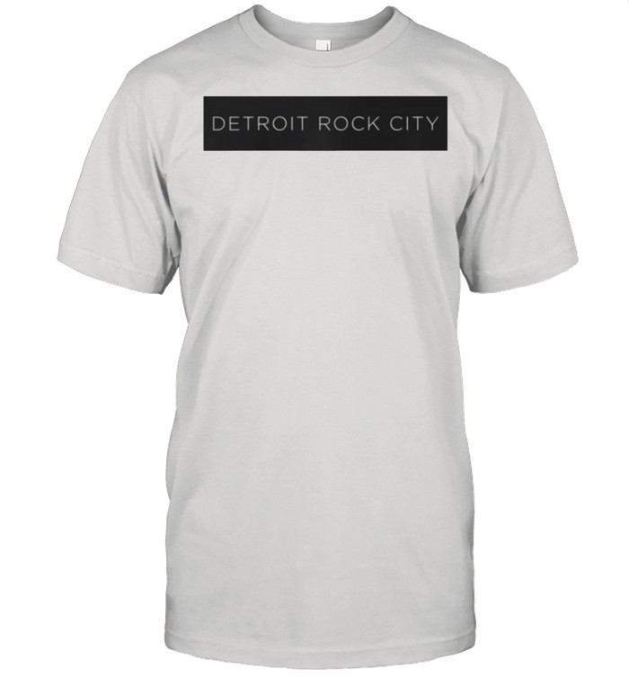 KISS Detroit Rock City Block shirt Classic Men's T-shirt