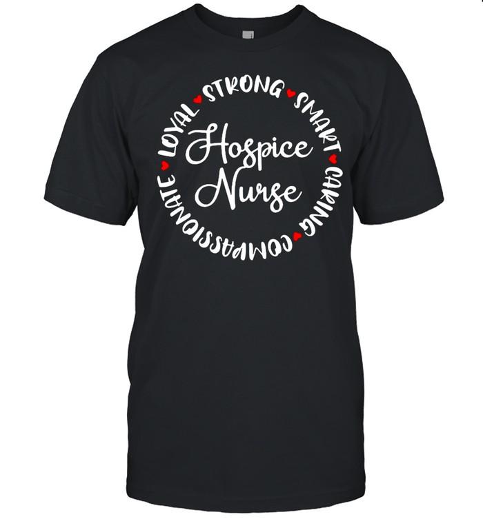 Hospice Nurse Gifts Nurses Nursing Graduation Medical Love T-shirt Classic Men's T-shirt