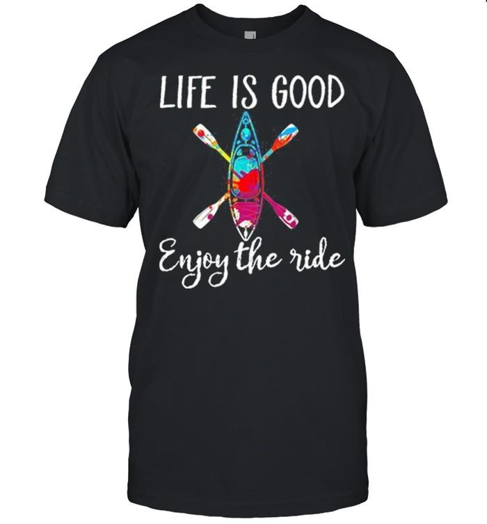 Life Is Good Enjoy The Ride Kayak shirt Classic Men's T-shirt