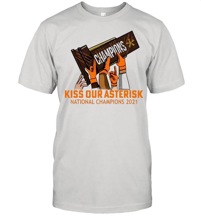 Kiss Our Asterisk Houston  Classic Men's T-shirt