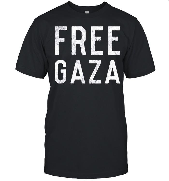 Free Gaza Palestine shirt Classic Men's T-shirt