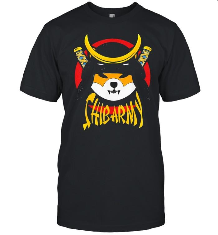 SHIB ARMY Crypto Samurai Shiba Inu coin shirt Classic Men's T-shirt