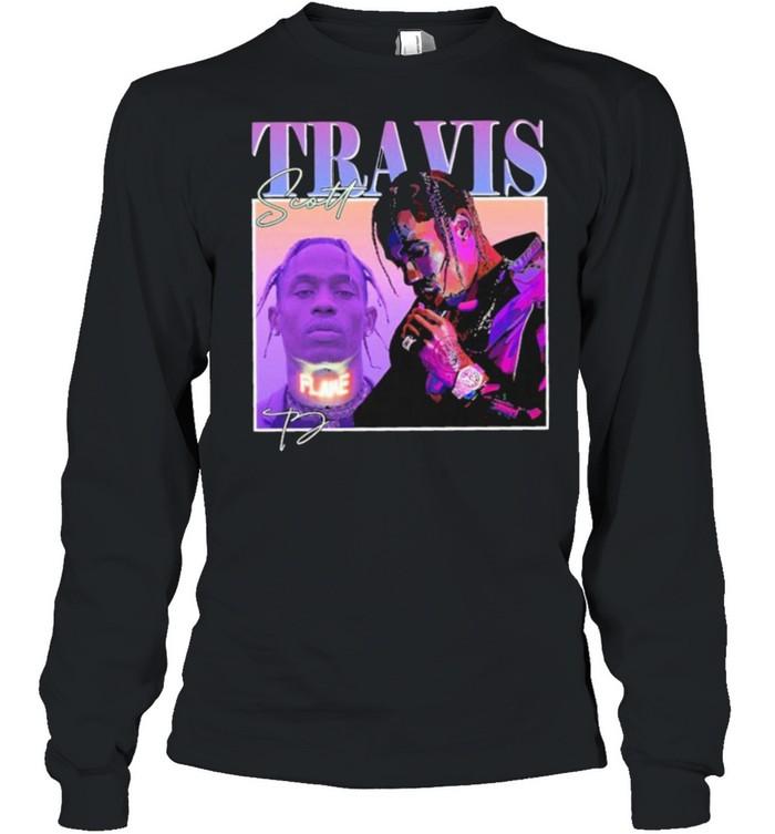 Travis scott 2021 shirt Long Sleeved T-shirt