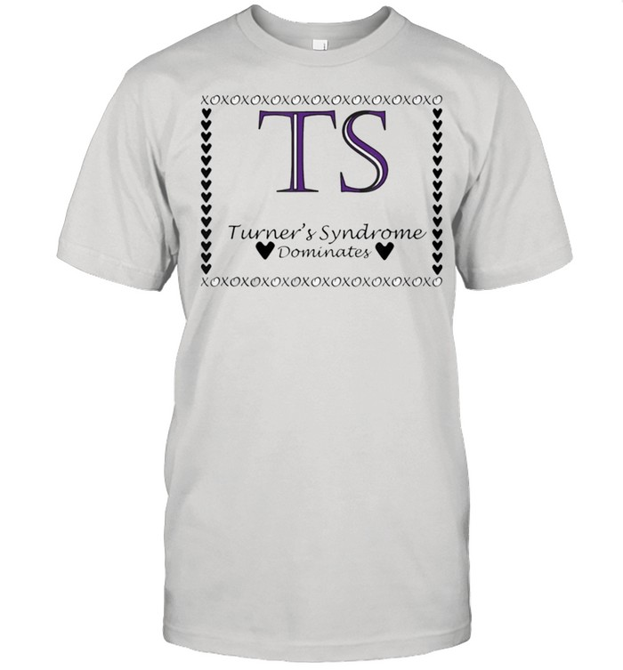 Turners Syndrome Dominates Awareness shirt Classic Men's T-shirt