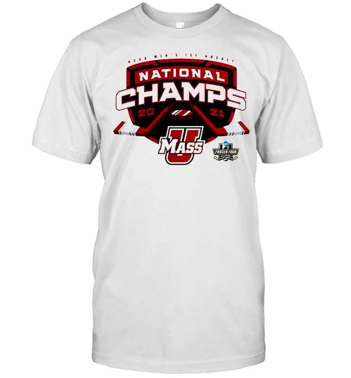 UMass Minutemen Mens Ice Hockey National Champions shirt Classic Men's T-shirt