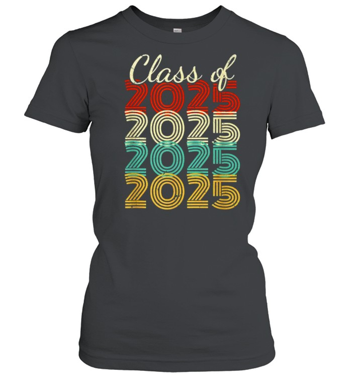 Class Of 2025 Vintage  Classic Women's T-shirt