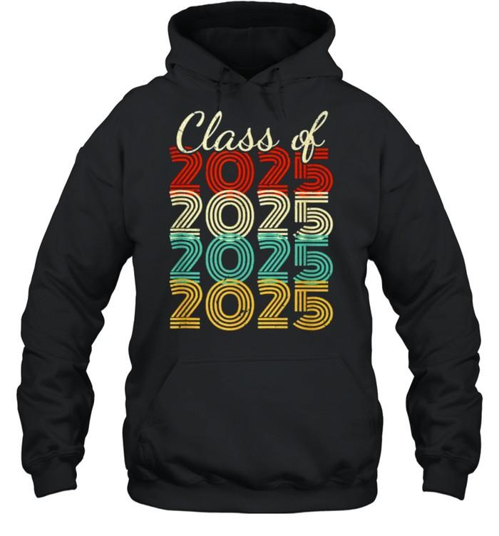Class Of 2025 Vintage  Unisex Hoodie