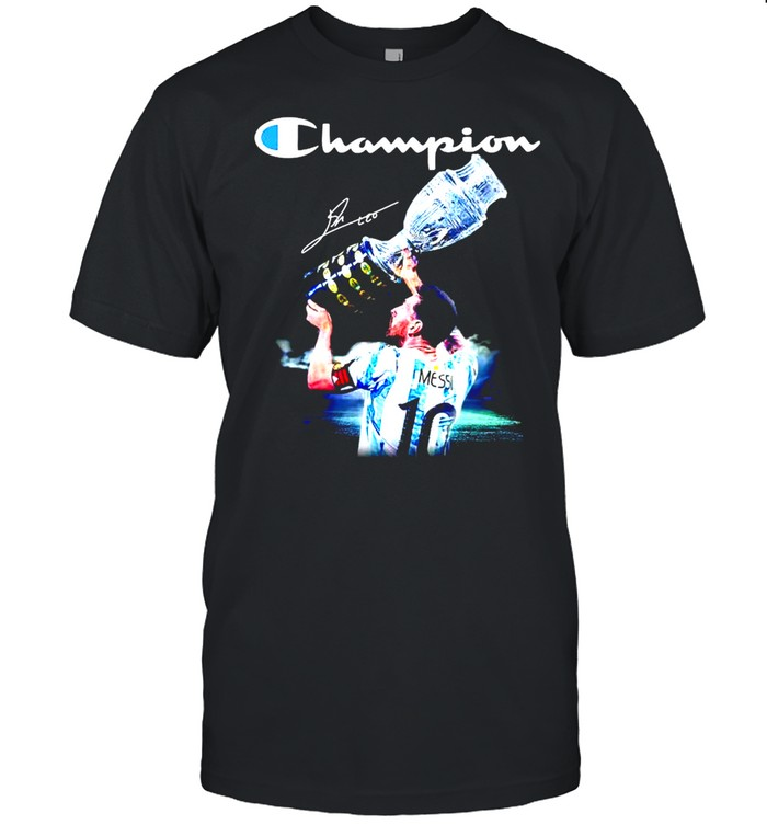 Messi champion Copa America cup shirt Classic Men's T-shirt