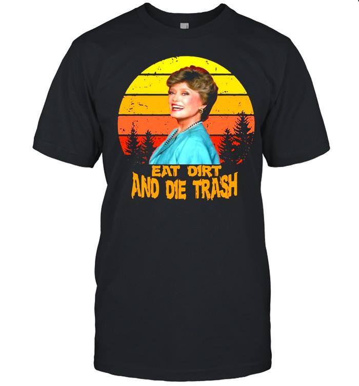 Love Eat Dirt And Die Trash Vintage Retro T-shirt Classic Men's T-shirt