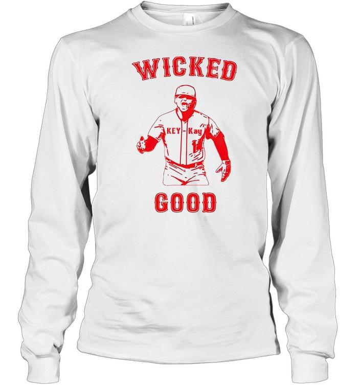 Kíke Hernandez wicked good shirt Long Sleeved T-shirt