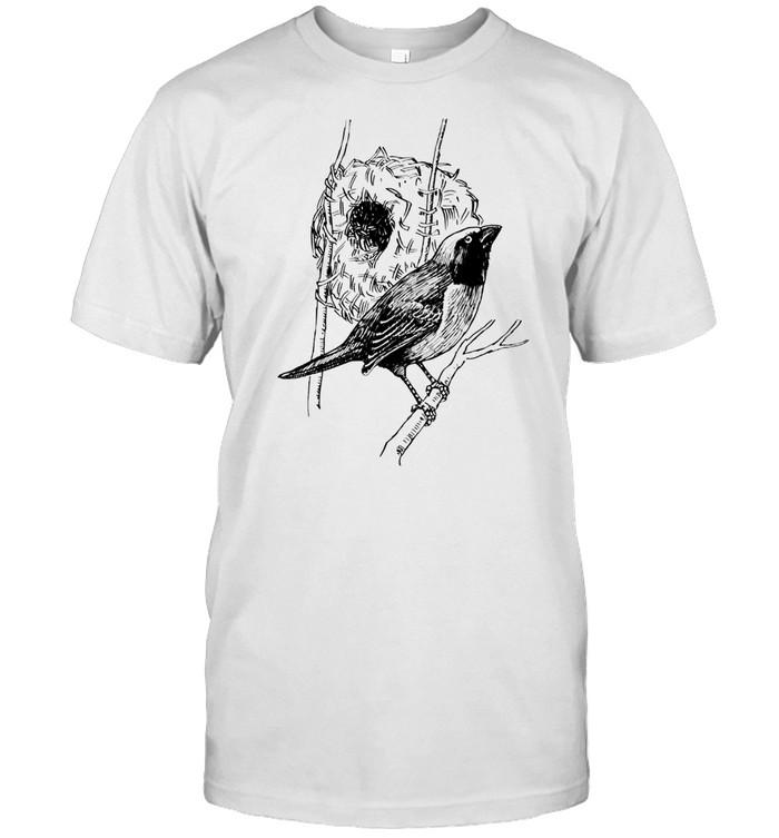Weaverbird Weaver Bird Birdwatcher shirt Classic Men's T-shirt