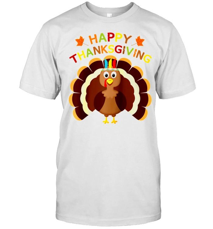 Thanksgiving Turkey Toddler Happy Thanksgiving Day shirt Classic Men's T-shirt