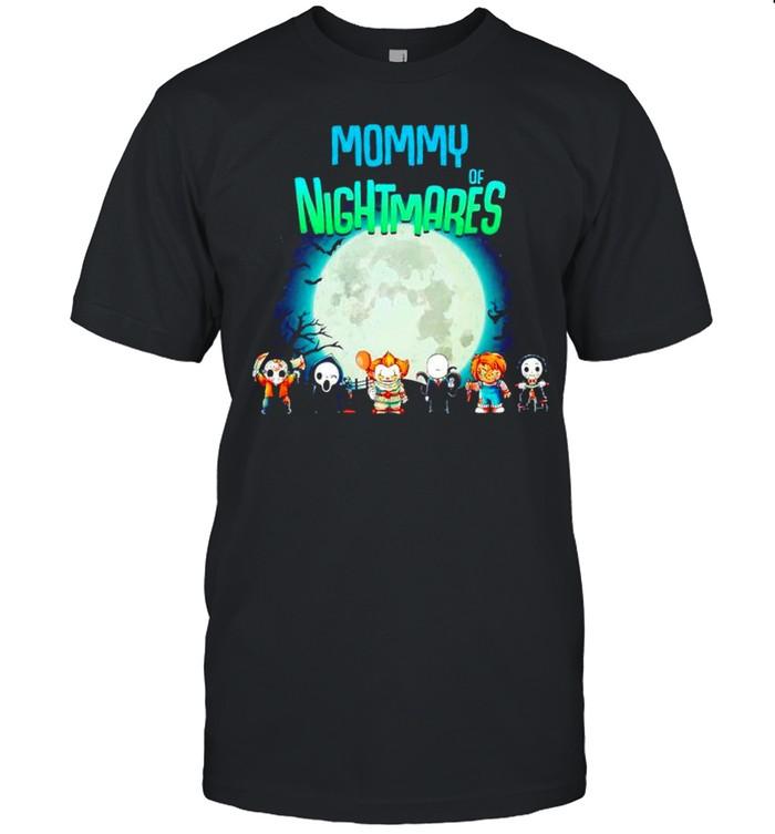 Horror Halloween Mommy of nightmares shirt Classic Men's T-shirt