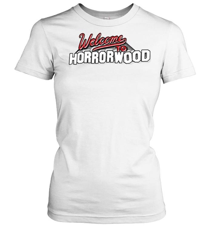 Ice Nine Kills welcome to horrorwood shirt Classic Women's T-shirt