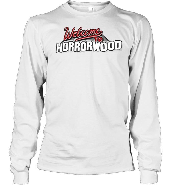 Ice Nine Kills welcome to horrorwood shirt Long Sleeved T-shirt