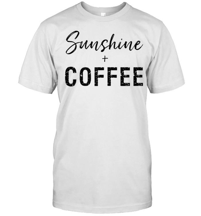 Sunshine And Coffee T- Classic Men's T-shirt