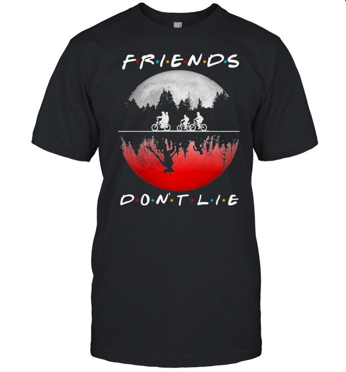 Cycling Friends Dont Lie Halloween shirt Classic Men's T-shirt