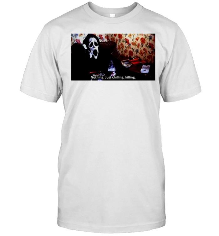 Devil nothing just chilling killing shirt Classic Men's T-shirt
