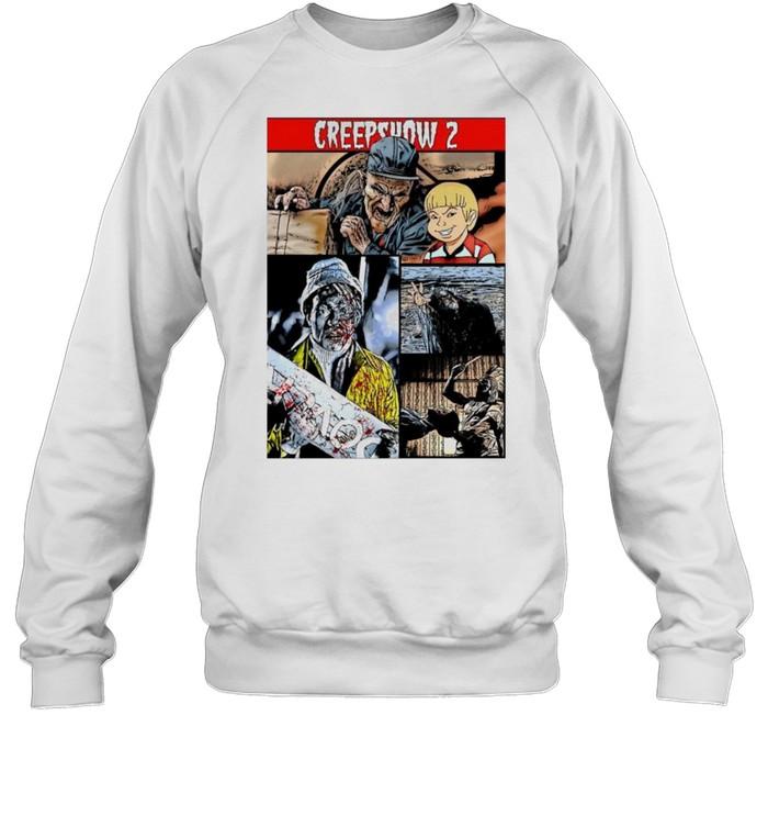 Creepshow Halloween Horror Nightmare Zombie Monster shirt Unisex Sweatshirt