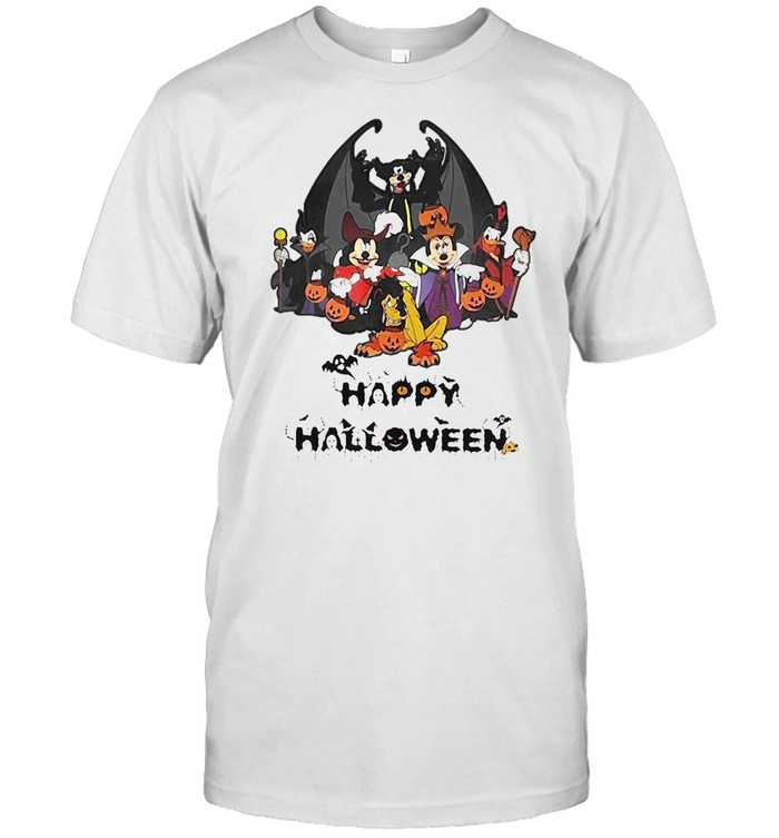 Disney Happy Halloween 2021 T-shirt Classic Men's T-shirt