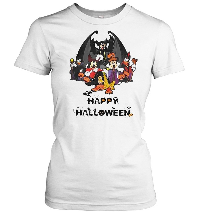 Disney Happy Halloween 2021 T-shirt Classic Women's T-shirt