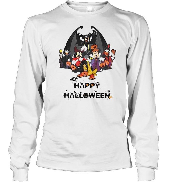 Disney Happy Halloween 2021 T-shirt Long Sleeved T-shirt