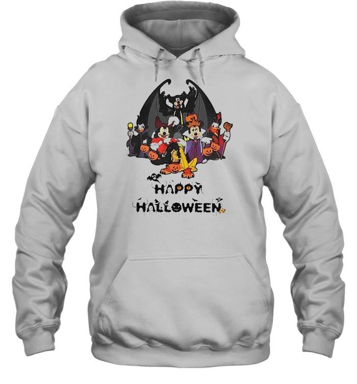 Disney Happy Halloween 2021 T-shirt Unisex Hoodie