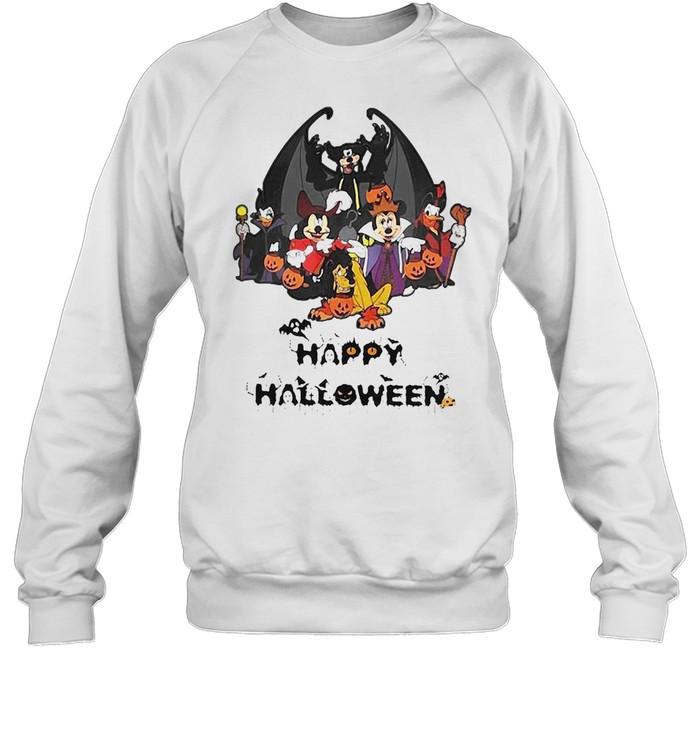Disney Happy Halloween 2021 T-shirt Unisex Sweatshirt