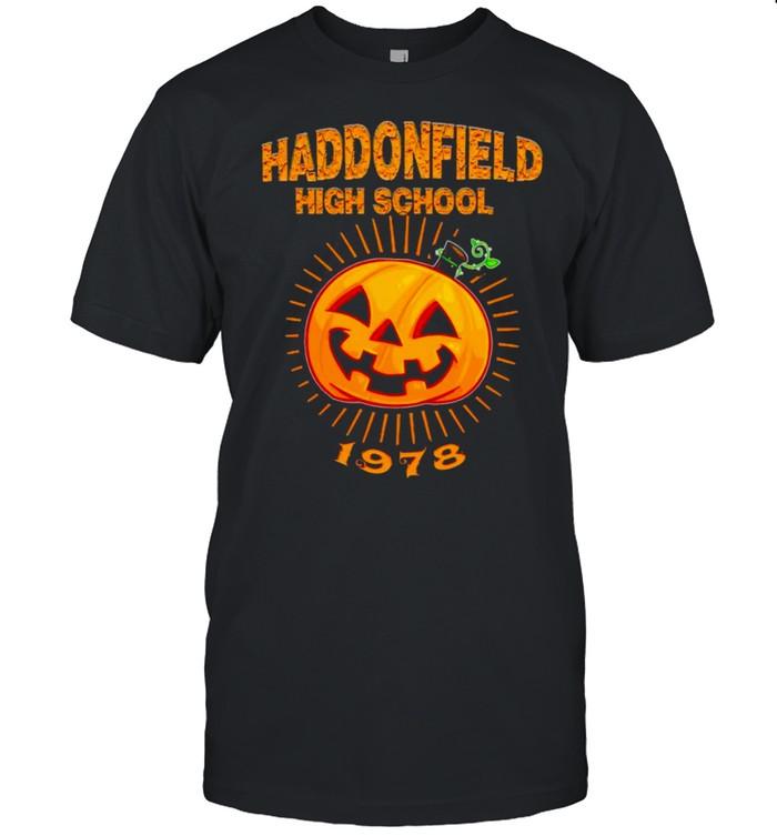 Pumpkin haddonfield high school 1978 shirt Classic Men's T-shirt
