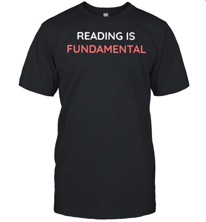 Reading is fundamental shirt Classic Men's T-shirt