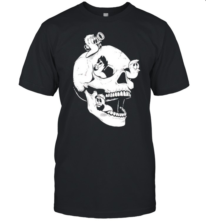 Tomar skull worms shirt Classic Men's T-shirt