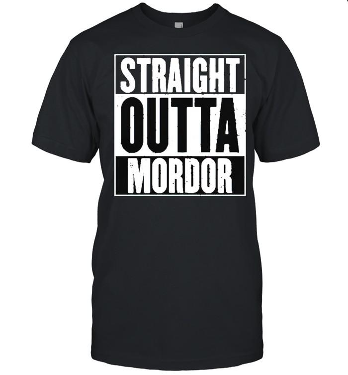 Straight outta mordor shirt Classic Men's T-shirt