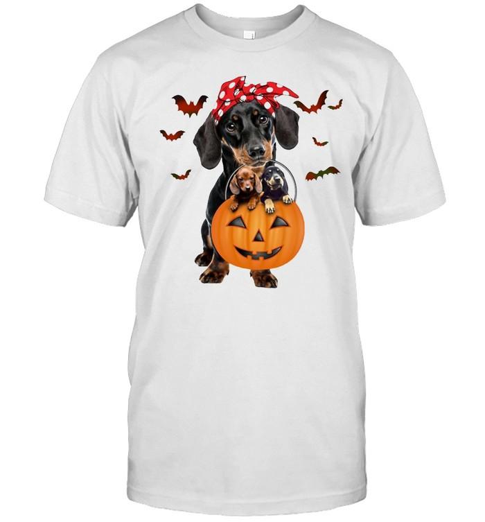 Dachshund Bring Me To Halloween  Classic Men's T-shirt