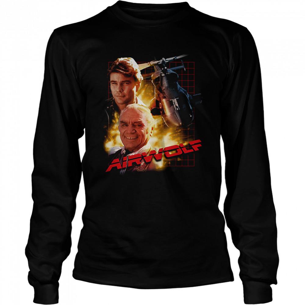 Airwolf T- Long Sleeved T-shirt