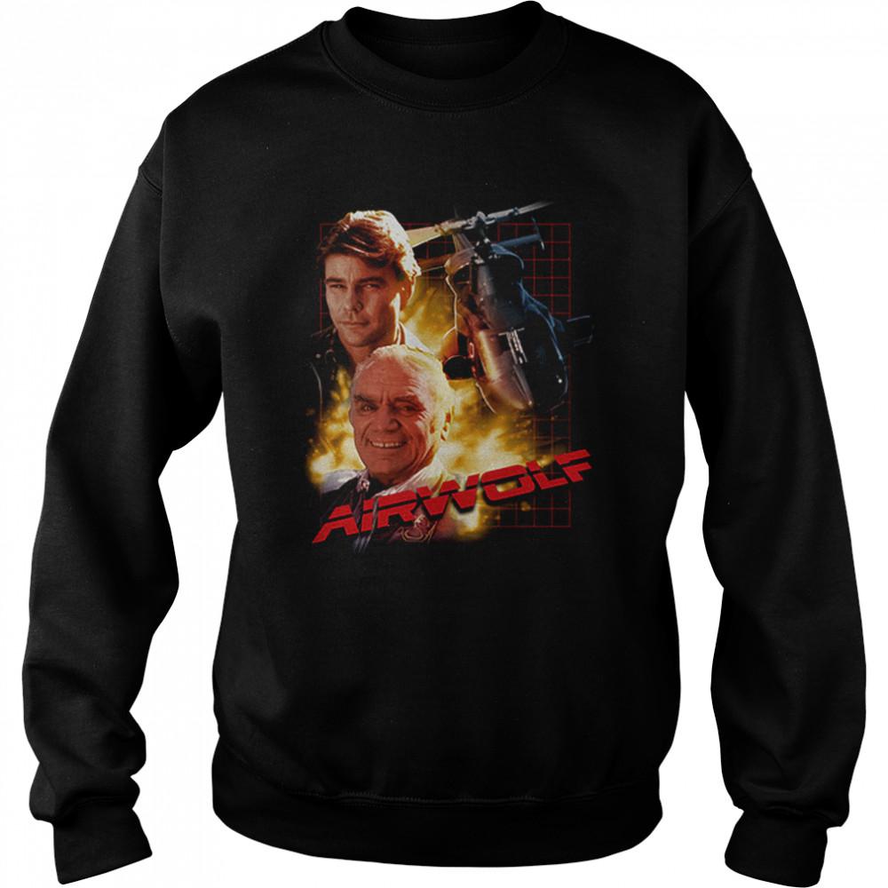 Airwolf T- Unisex Sweatshirt