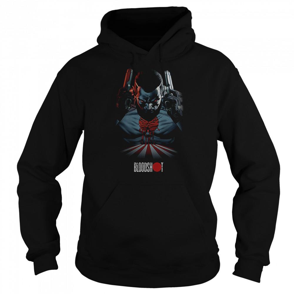 Bloodshot T- Unisex Hoodie