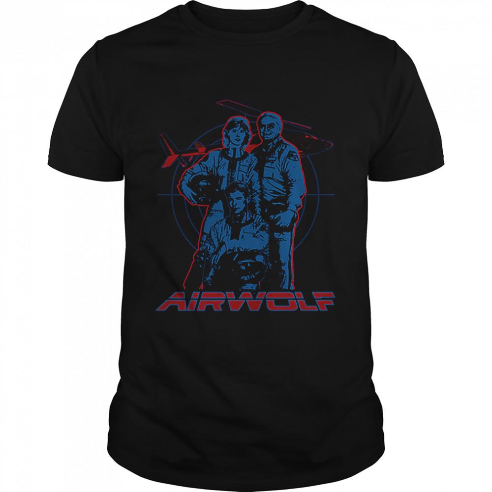 Cast Airwolf T- Classic Men's T-shirt