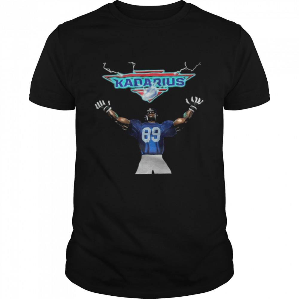 NFL Kadarius Toney Youth New York Giants Kadarius  Classic Men's T-shirt