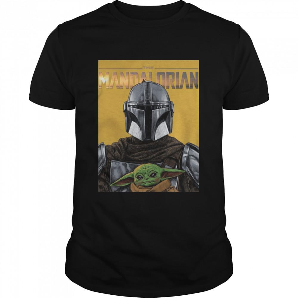 Star Wars The Mandalorian And Baby Yoda shirt Classic Men's T-shirt