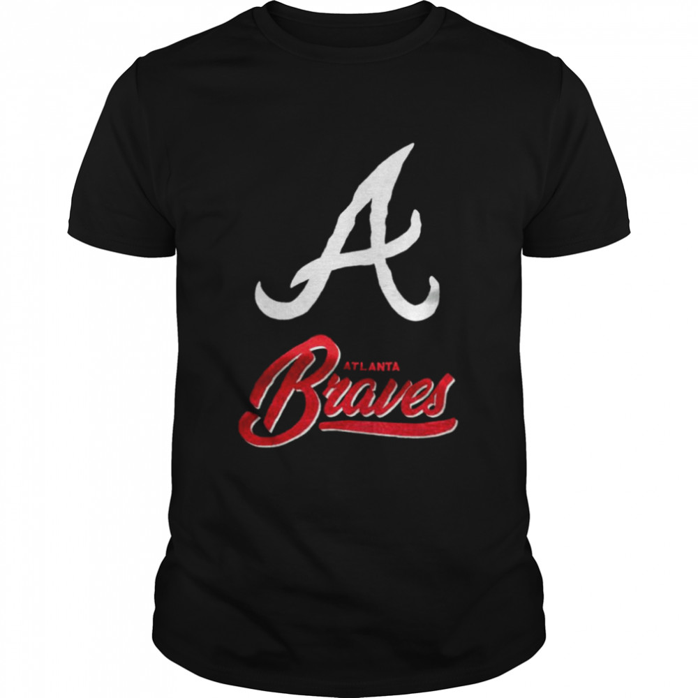 The Northwest Atlanta Braves Signature Raschel Blanket Sport  Classic Men's T-shirt