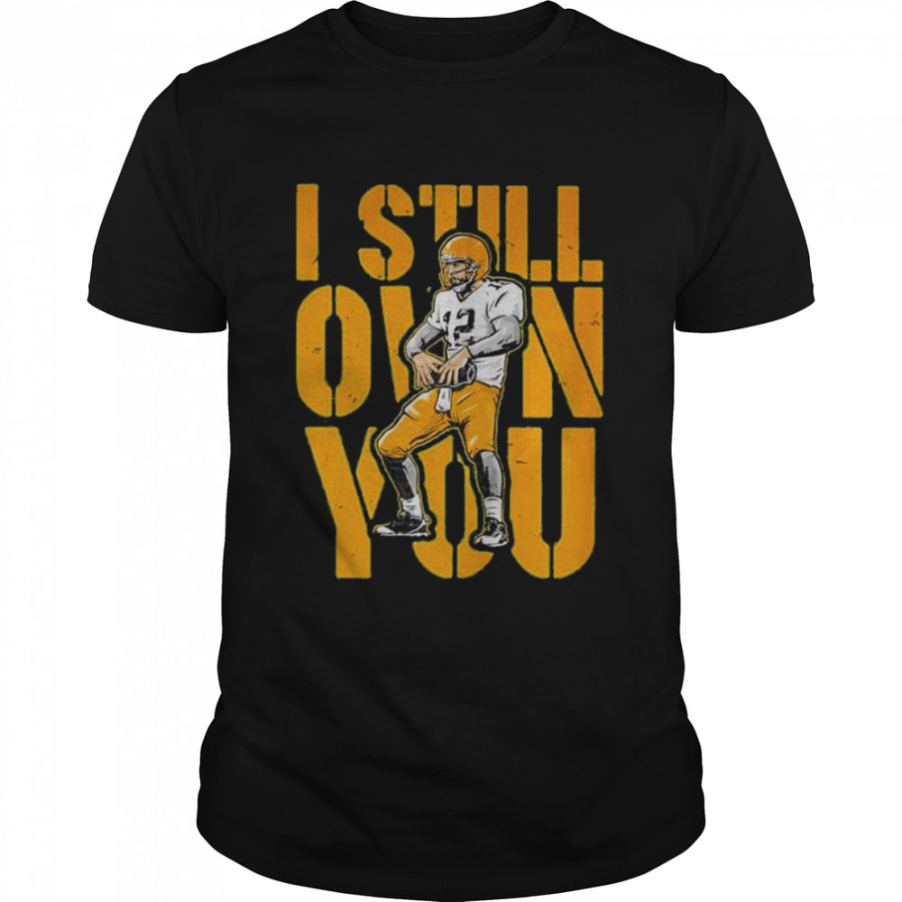 Aaron Rodgers I Still Own You Green Bay Packers T- Classic Men's T-shirt