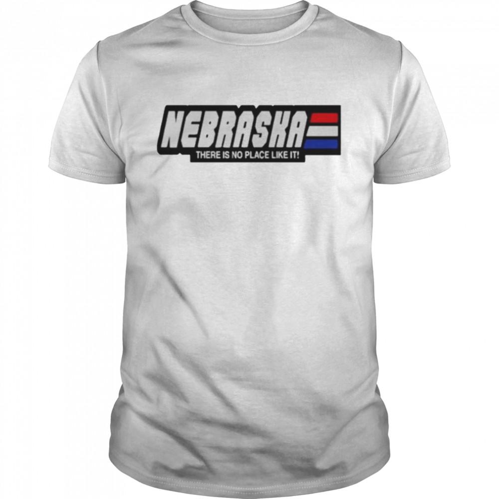 Nebraska there is no place like it shirt Classic Men's T-shirt