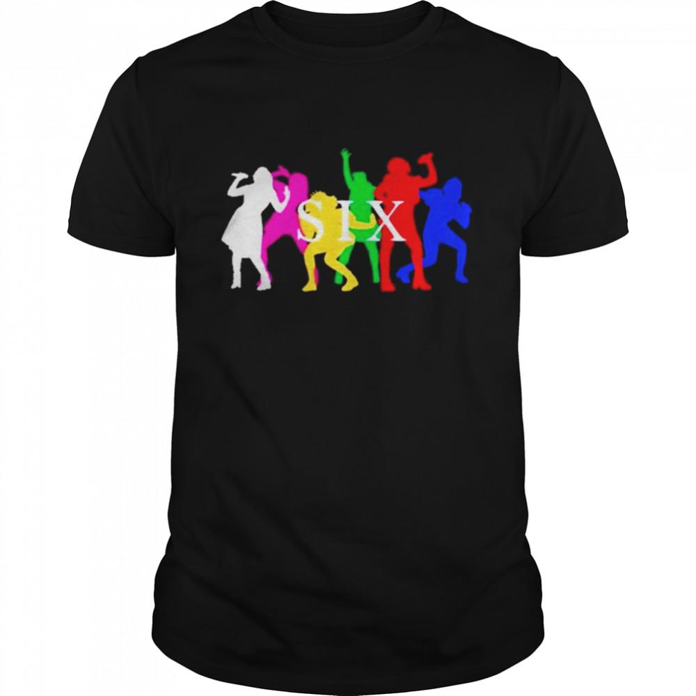 Six The Musical Queens  Classic Men's T-shirt