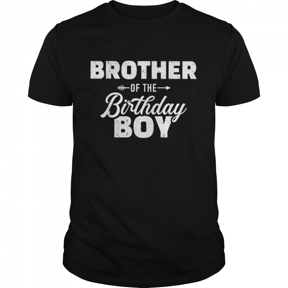 Brother of the birthday boy son matching family T- Classic Men's T-shirt
