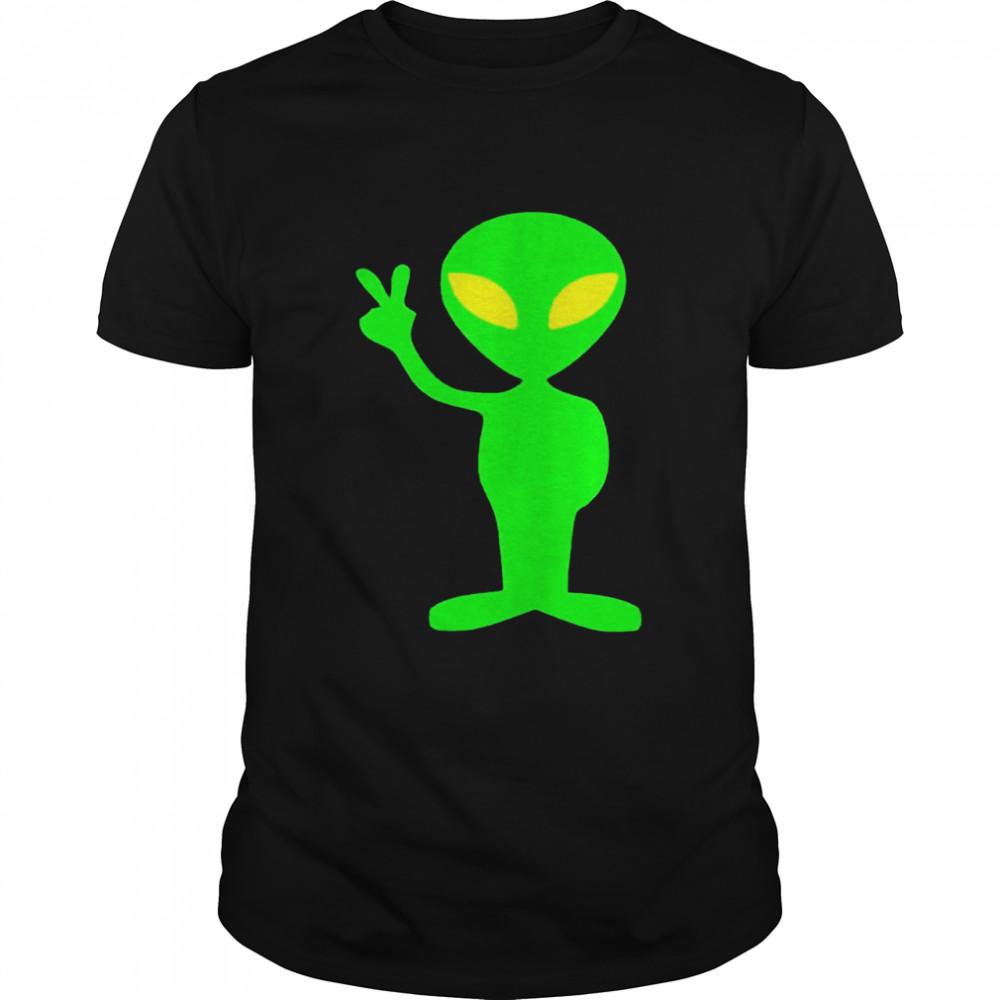 Freundlicher AlienWeltraum  Classic Men's T-shirt
