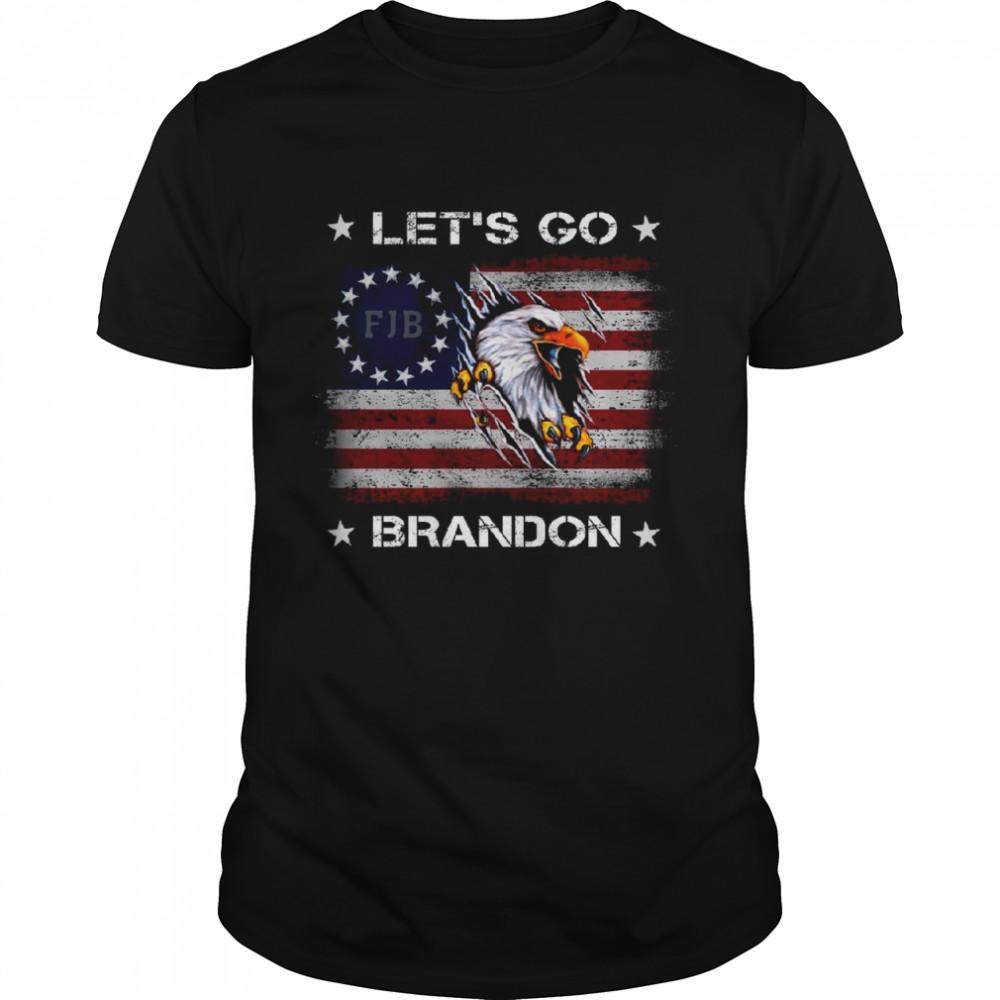 Let's go brandon shirt Let's go brandon fjb shirt Classic Men's T-shirt